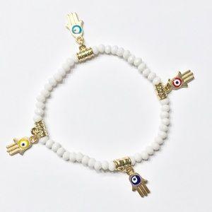 New Hamsa Evil Eye Bracelet